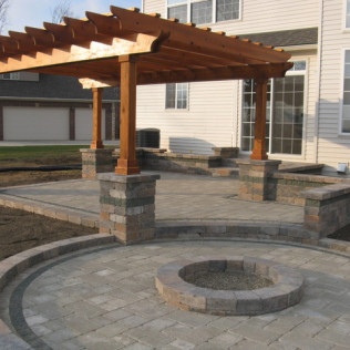 fire pit design katy tx