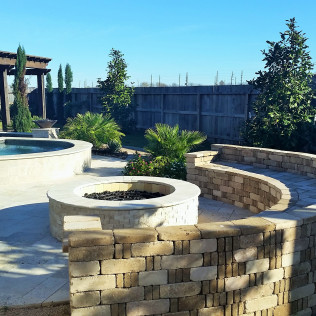 fire pit installation katy tx