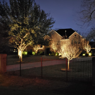 outdoor lighting installation pearland tx