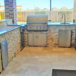 outdoor kitchen construction missouri city tx
